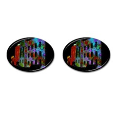 Science Center Cufflinks (Oval)