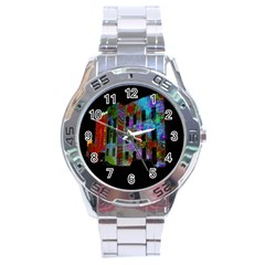 Science Center Stainless Steel Analogue Watch