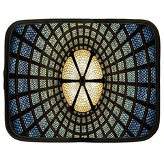 Stained Glass Colorful Glass Netbook Case (Large)