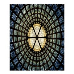 Stained Glass Colorful Glass Shower Curtain 60  x 72  (Medium)