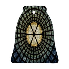 Stained Glass Colorful Glass Bell Ornament (two Sides)