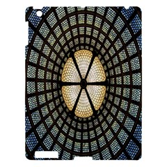 Stained Glass Colorful Glass Apple iPad 3/4 Hardshell Case
