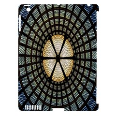 Stained Glass Colorful Glass Apple iPad 3/4 Hardshell Case (Compatible with Smart Cover)