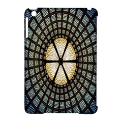 Stained Glass Colorful Glass Apple iPad Mini Hardshell Case (Compatible with Smart Cover)