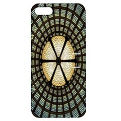 Stained Glass Colorful Glass Apple iPhone 5 Hardshell Case with Stand