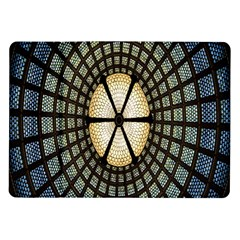Stained Glass Colorful Glass Samsung Galaxy Tab 10 1  P7500 Flip Case