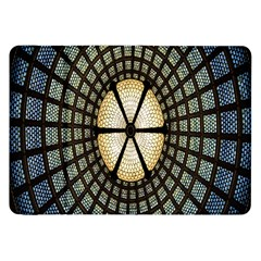 Stained Glass Colorful Glass Samsung Galaxy Tab 8.9  P7300 Flip Case