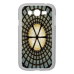 Stained Glass Colorful Glass Samsung Galaxy Grand DUOS I9082 Case (White)