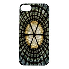 Stained Glass Colorful Glass Apple iPhone 5S/ SE Hardshell Case