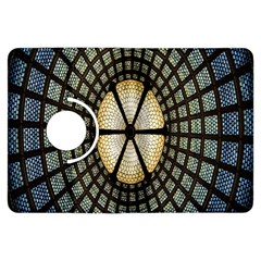 Stained Glass Colorful Glass Kindle Fire HDX Flip 360 Case