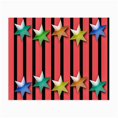 Star Christmas Greeting Small Glasses Cloth (2-Side)
