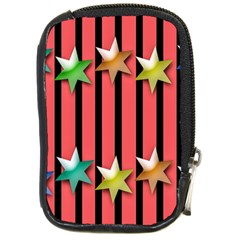 Star Christmas Greeting Compact Camera Cases