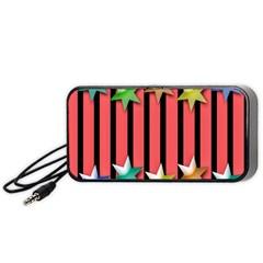 Star Christmas Greeting Portable Speaker (Black)
