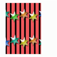 Star Christmas Greeting Small Garden Flag (Two Sides)