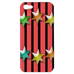 Star Christmas Greeting Apple iPhone 5 Hardshell Case