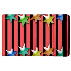 Star Christmas Greeting Apple iPad 2 Flip Case