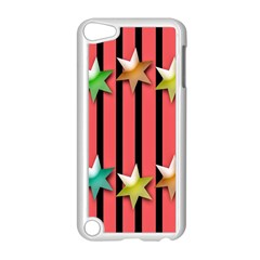 Star Christmas Greeting Apple iPod Touch 5 Case (White)