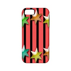 Star Christmas Greeting Apple iPhone 5 Classic Hardshell Case (PC+Silicone)