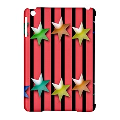 Star Christmas Greeting Apple iPad Mini Hardshell Case (Compatible with Smart Cover)