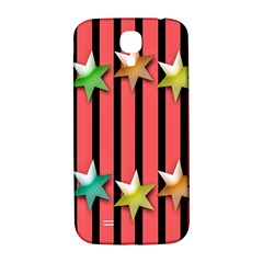 Star Christmas Greeting Samsung Galaxy S4 I9500/I9505  Hardshell Back Case