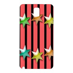 Star Christmas Greeting Samsung Galaxy Note 3 N9005 Hardshell Back Case