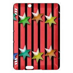 Star Christmas Greeting Kindle Fire Hdx Hardshell Case