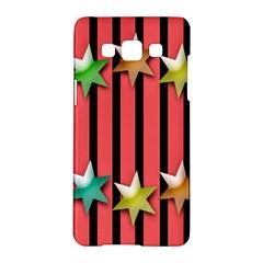 Star Christmas Greeting Samsung Galaxy A5 Hardshell Case