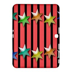 Star Christmas Greeting Samsung Galaxy Tab 4 (10.1 ) Hardshell Case