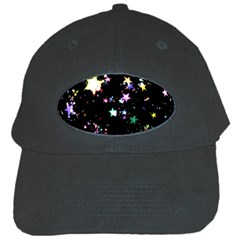 Star Ball About Pile Christmas Black Cap