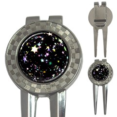 Star Ball About Pile Christmas 3-in-1 Golf Divots