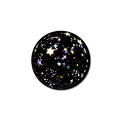 Star Ball About Pile Christmas Golf Ball Marker