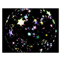 Star Ball About Pile Christmas Rectangular Jigsaw Puzzl