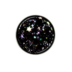 Star Ball About Pile Christmas Hat Clip Ball Marker