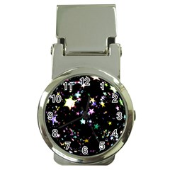 Star Ball About Pile Christmas Money Clip Watches