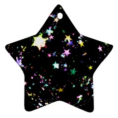 Star Ball About Pile Christmas Star Ornament (Two Sides)