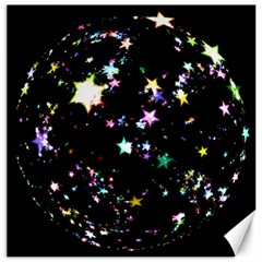Star Ball About Pile Christmas Canvas 12  x 12