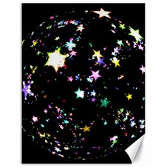 Star Ball About Pile Christmas Canvas 18  x 24