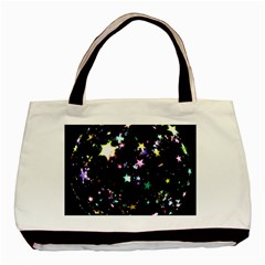 Star Ball About Pile Christmas Basic Tote Bag (Two Sides)