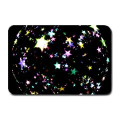 Star Ball About Pile Christmas Plate Mats