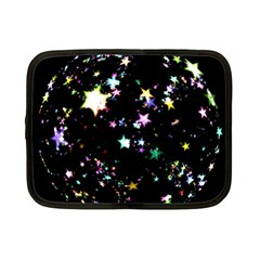 Star Ball About Pile Christmas Netbook Case (Small)