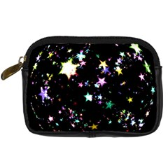 Star Ball About Pile Christmas Digital Camera Cases