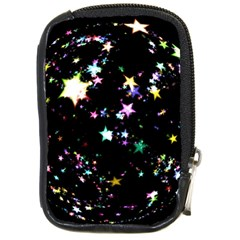 Star Ball About Pile Christmas Compact Camera Cases