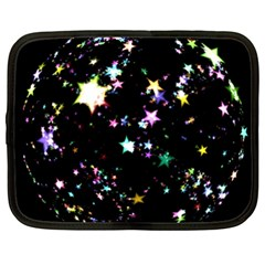 Star Ball About Pile Christmas Netbook Case (XXL)