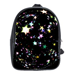 Star Ball About Pile Christmas School Bags(Large)