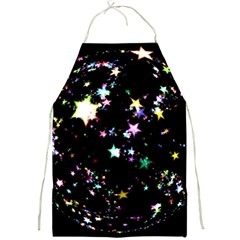 Star Ball About Pile Christmas Full Print Aprons
