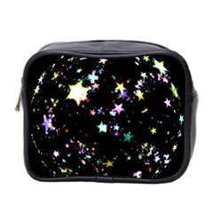 Star Ball About Pile Christmas Mini Toiletries Bag 2-Side