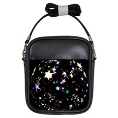 Star Ball About Pile Christmas Girls Sling Bags