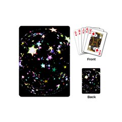 Star Ball About Pile Christmas Playing Cards (Mini)