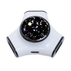Star Ball About Pile Christmas 3-Port USB Hub
