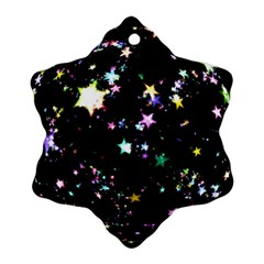 Star Ball About Pile Christmas Ornament (Snowflake)